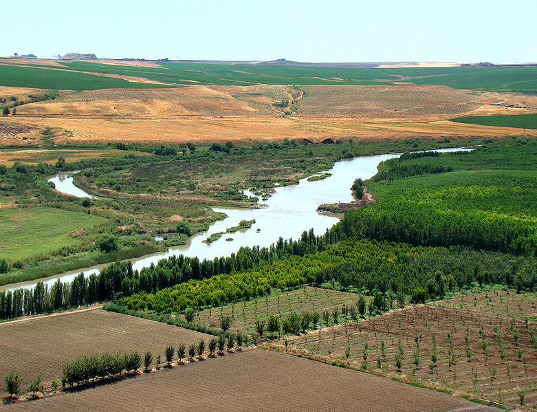 Tigris River. Source: wikipedia user Bjørn Christian Tørrissen
